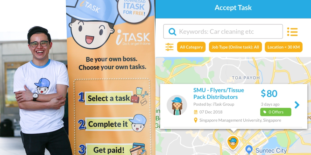 Too Busy Or Too Lazy? This S'pore App Will Find Someone To Get Your Things Done For You